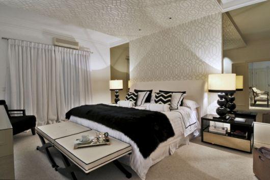 papel parede teto
