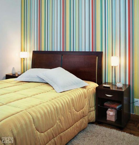 parede colorida quarto