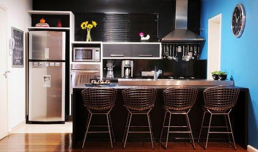 cozinha apartamento moderna