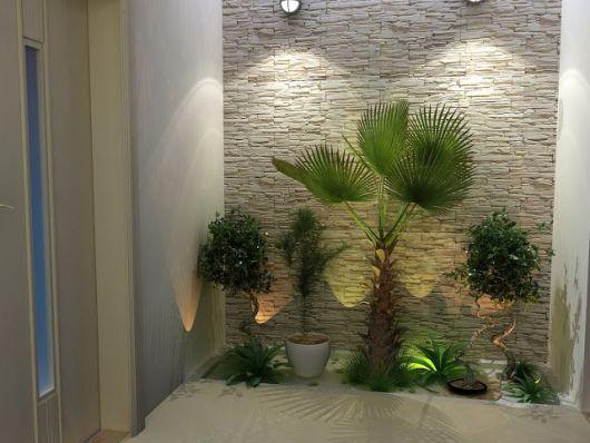 9 PLANTAS PARA JARDIM DE INVERNO Projetos e Dicas -> Banheiro Pequeno Com Jardim De Inverno