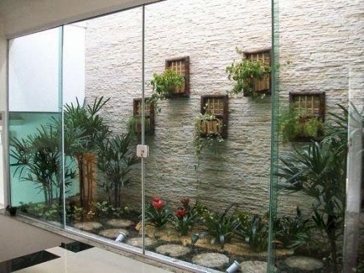 fotos de jardim interno : fotos de jardim interno:PLANTAS PARA JARDIM DE INVERNO: Projetos e Dicas