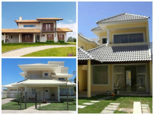telhas pintadas casa