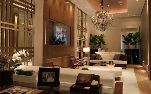 decoração sala sofisticada