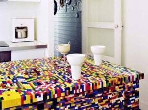 Cozinha geek lego