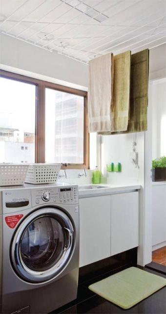 varal lavanderia pequena