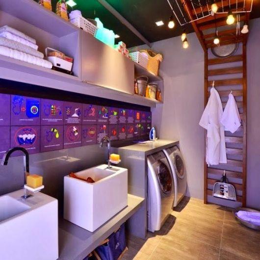 lavanderia casa moderna