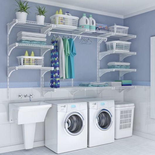 Rea de servi o decorada e organizada for Lavaderos modernos para casas