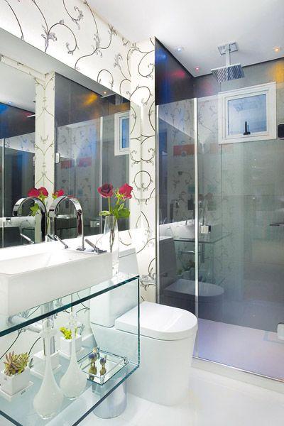 Banheiro azul: 80 ideias de projetos e fotos!
