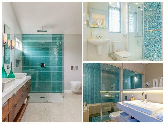 BANHEIRO AZUL 80 Ideias de Projetos e Foto -> Pia Banheiro Azul
