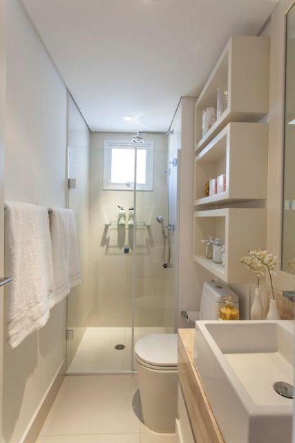 banheiro com nichos