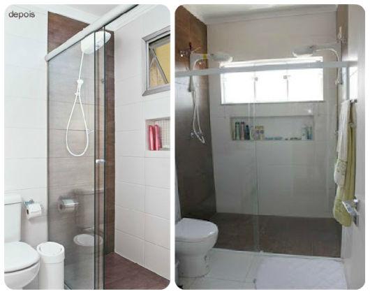 70 BANHEIROS MODERNOS IMPERDÍVEIS! Fotos e Dicas -> Banheiros Modernos Simples