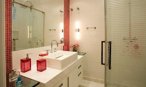 banheiro simples com pastilha
