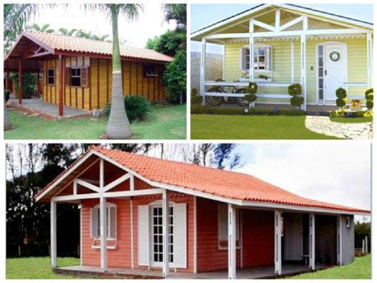 casa madeira pintada