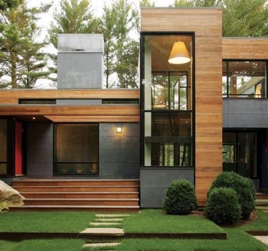80 casas de madeira projetos modelos fotos e dicas for Casa moderna baratas