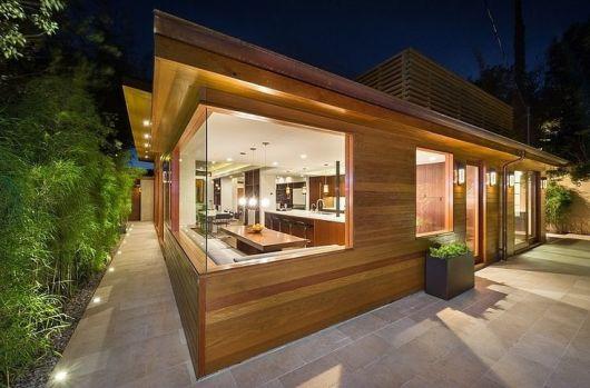 80 casas de madeira projetos modelos fotos e dicas - Casa pequena de madera ...
