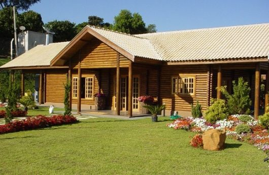 madeira roliça casa