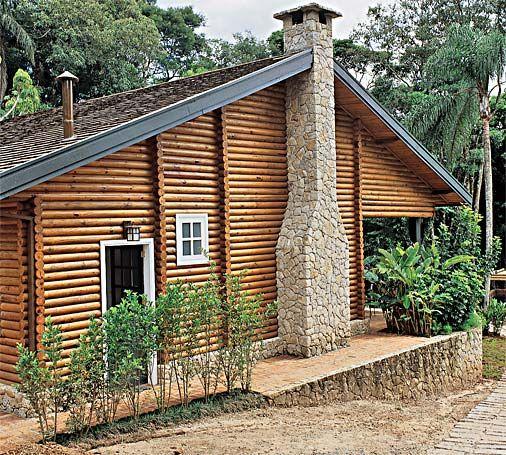 80 casas de madeira projetos modelos fotos e dicas - Casas de campo restauradas ...