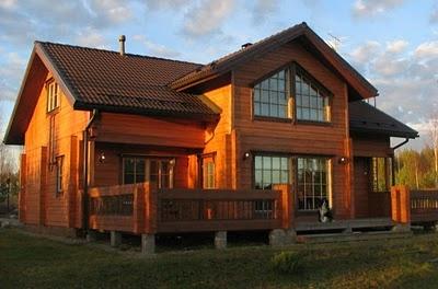 Projetos de casas de madeira para sitios