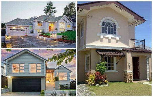 30 casas estilo americano fachadas e interiores Estilos de fachadas para casas pequenas