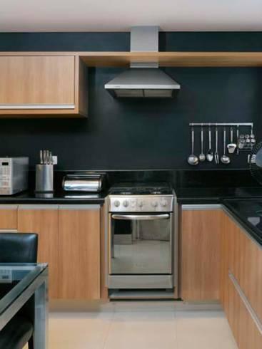 Cores para cozinhas com madeira