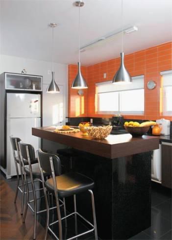 Cores para pintar a cozinha pequena