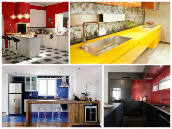 Dicas de cores para cozinha pequena parecer maior