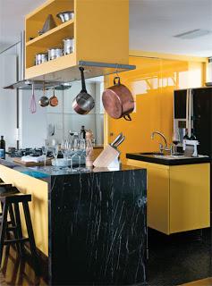 Cores para cozinha vintage retrô