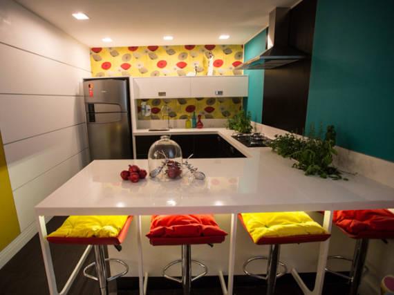 Dicas de cores de revestimentos para cozinha pequena