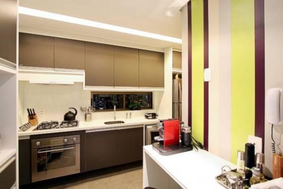 Imagens de cozinhas modernas coloridas