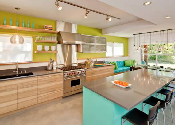 Dicas de cores diferentes para cozinha moderna