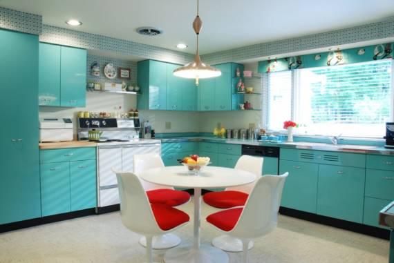 Fotos de cozinhas azul - como decorar