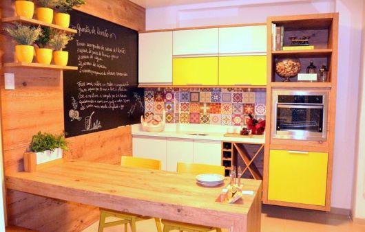 cozinha moderna para apartamento