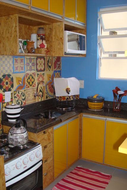 cozinha alternativa amarela