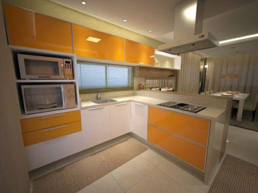 cozinha moderna integrada