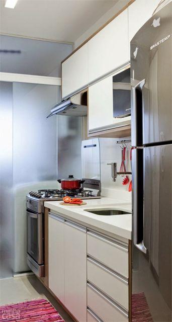 dica cozinha corredor