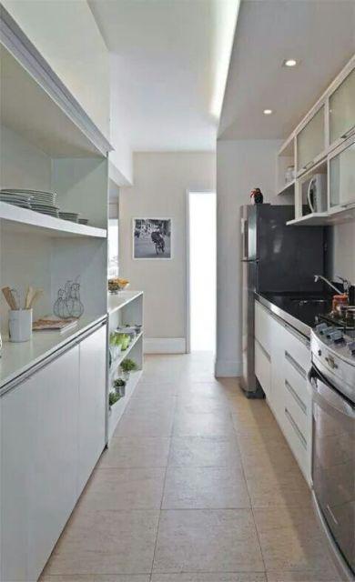 cozinha americana decorada
