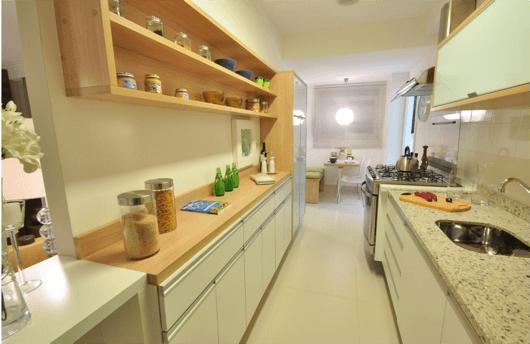 Armario De Cozinha Pequeno Ricardo Eletro ~ COZINHA CORREDOR 25 Projetos, Fotos e Dicas!