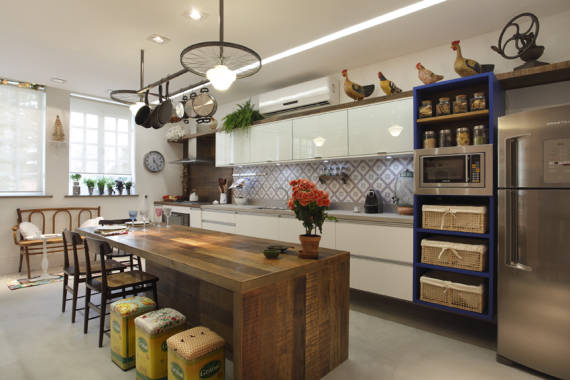 ENFEITES PARA COZINHA 25 Ideias Criativas de Decoração! # Dicas De Decoracao Para Cozinha Grande