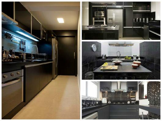 Cozinha Preta 70 Modelos E Fotos De Cair O Queixo