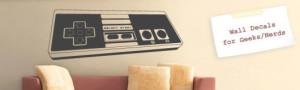 decoracao geek adesivos de parede