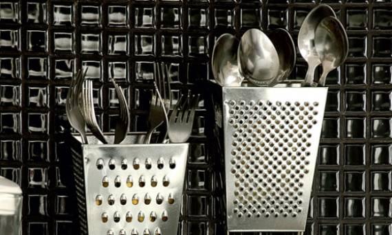 Sugestões de decoração de cozinha com enfeites de inox