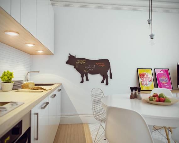 Imagens de enfeites para cozinha com adesivo chalkboard
