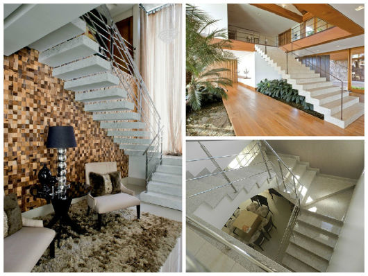 modelos escadas granito