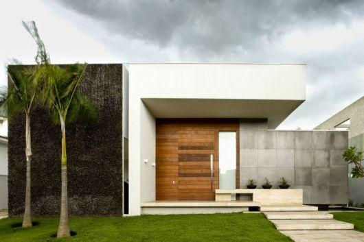 Fachadas de casas modernas 90 inspira es para se for Modelo de fachadas de viviendas