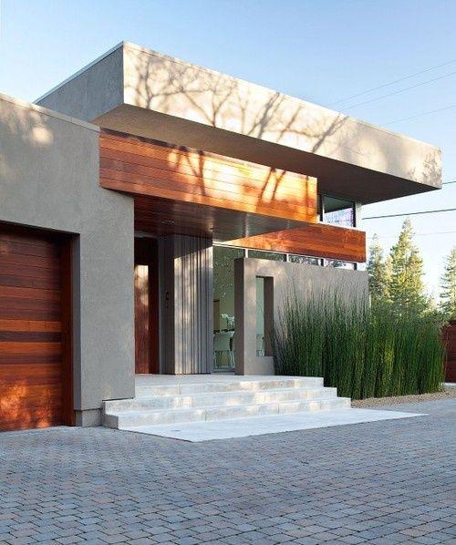 Fachadas de casas modernas 90 inspira es para se for Frentes de casas modernas planta baja