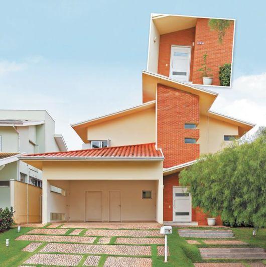 80 fachadas de casas modernas imperd vel for Modelos de casas fachadas fotos