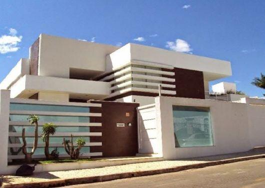 80 fachadas de casas modernas imperd vel - Materiales de construccion para fachadas ...