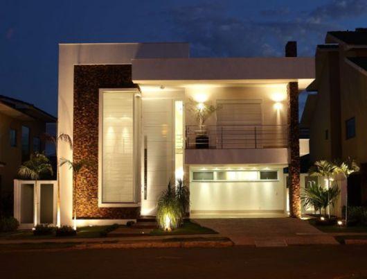 80 fachadas de casas modernas imperd vel Fachadas de entradas de casas modernas