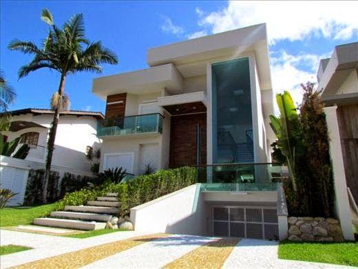 Fachadas de casas modernas 90 inspira es para se for Villa italia modelos