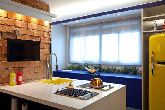 Dicas para combinar cores para cozinhas planejadas